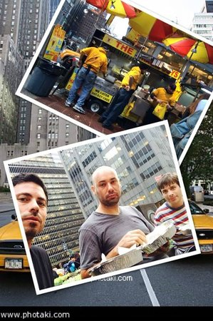 The Halal Guys: almuerzo en la 6th Ave