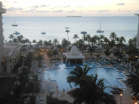 Hotel Riu Palace Aruba : view from Jr suite Tower A