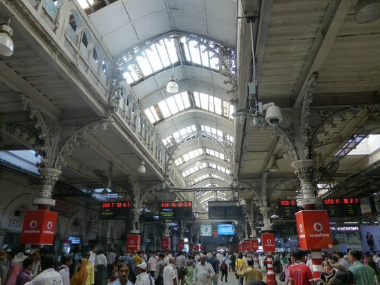 Chhatrapati Shivaji Terminus : Inside the terminus.