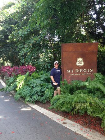 The St. Regis Bahia Beach Resort, Puerto Rico: here I am