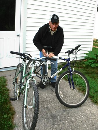 Lodgings at Pioneer Lane : Getting ready to ride