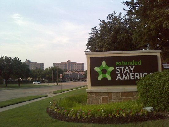Extended Stay America - Dallas - Las Colinas - Carnaby St.: sign