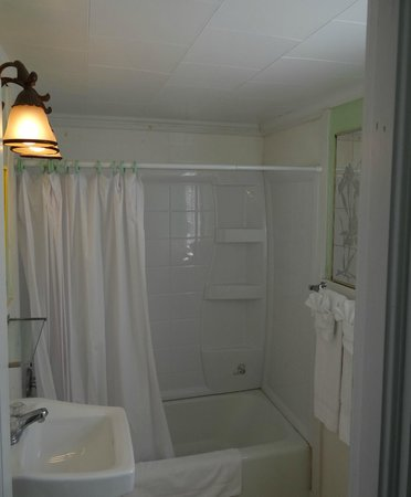 Jonathan Edwards Motel: Bathroom