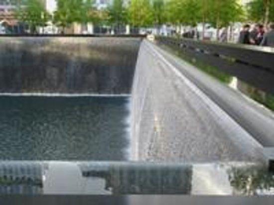 Mémorial du 11-Septembre : A beautiful and solemn place.
