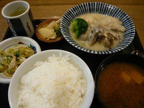 Shizuka: Today's lunch (cream chowder)