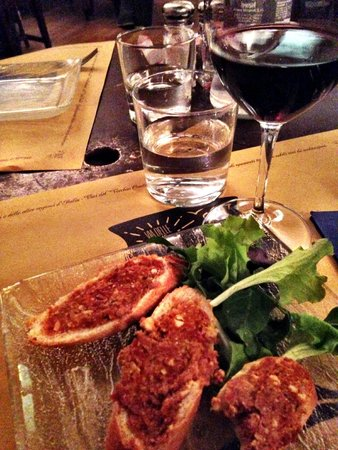Coquinarius: 1st course with a glass of wine