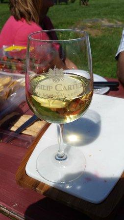 Philip Carter Winery: Delicious Wine.