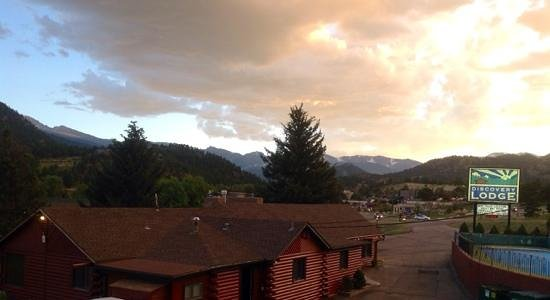Discovery Lodge: beautiful view!