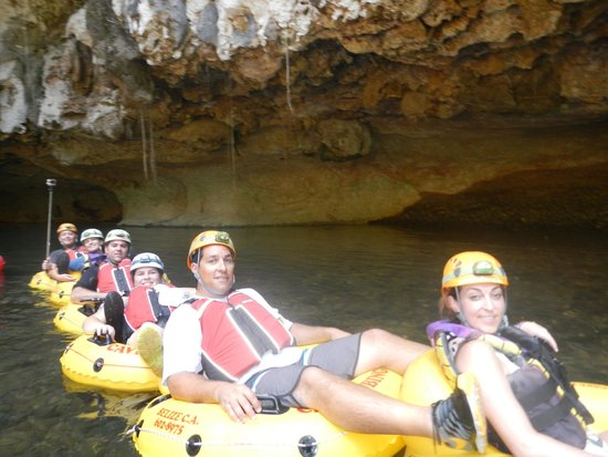 Cave Tubing with Vitalino Reyes: July 17 2014