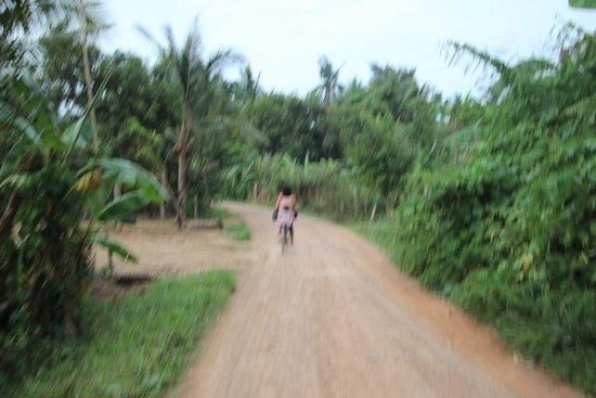 Battambang Resort : Local roads