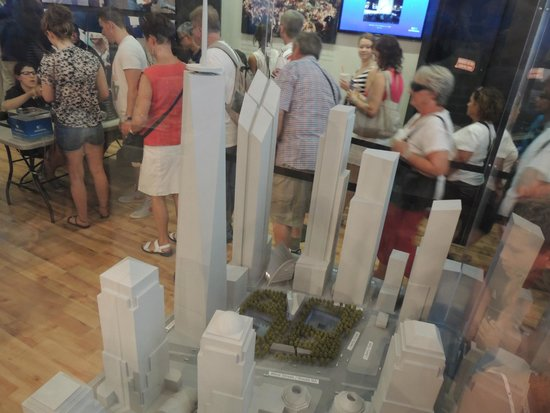 Mémorial du 11-Septembre : Maqueta