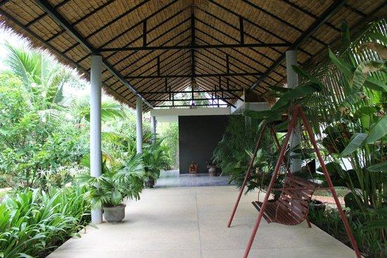 Battambang Resort : entrance