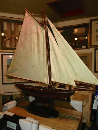 Water Street Gallery: Another ship model