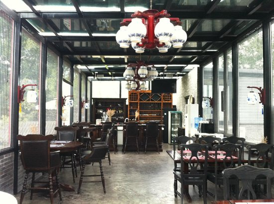 Hotel Cote Cour Beijing : Nicely decorated restaurant