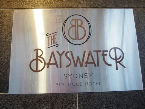 The Bayswater Sydney : The hotel