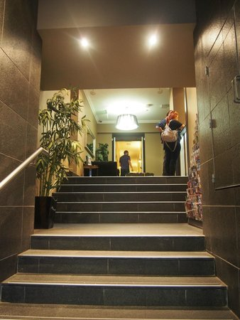 The Bayswater Sydney : Stair from street to lobby