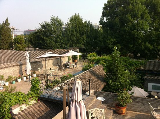 Hotel Cote Cour Beijing: View from rooftop