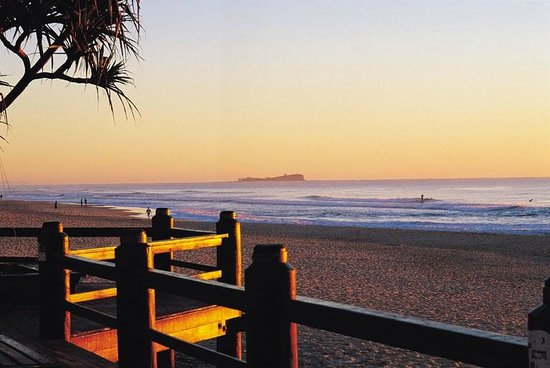 The Sebel Maroochydore: Maroochydore Beach at sunset