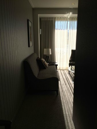 DoubleTree by Hilton Hotel Queenstown: View from kitchenette