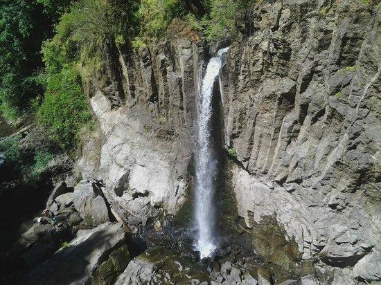 Drift Creek Falls Trail: View from bridge