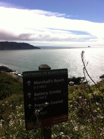 Presidio of San Francisco: Promenades le long de la baie