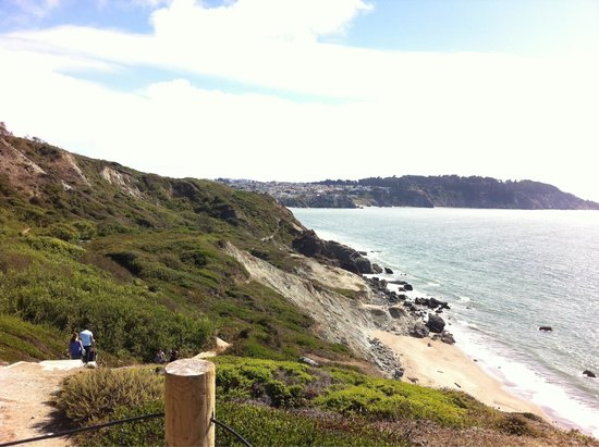 Presidio of San Francisco: Promenades le long de la baie avec vues superbes !