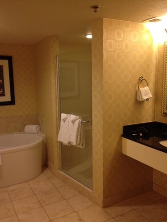 Planet Hollywood Resort & Casino: shower