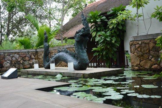 The Tubkaak Krabi Boutique Resort: Naga sculpture with history