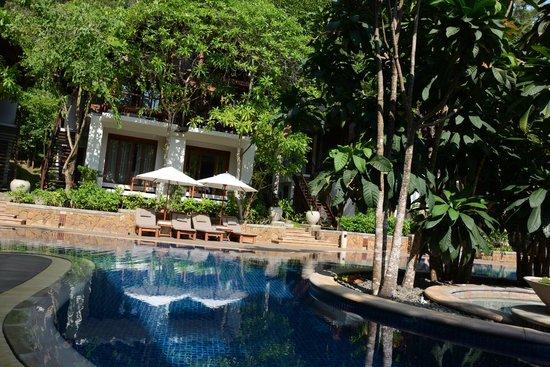 The Tubkaak Krabi Boutique Resort: Pool view