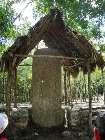 Ruines de Cobá : Ruinas
