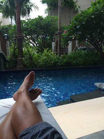 Grand Mercure Phuket Patong: View from the balcony :)