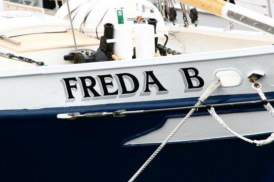 Schooner Freda B: Our boat