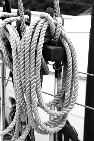 Schooner Freda B: Lines on the boat