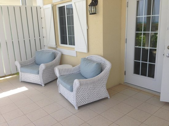 Beach House Turks & Caicos : Own back porch