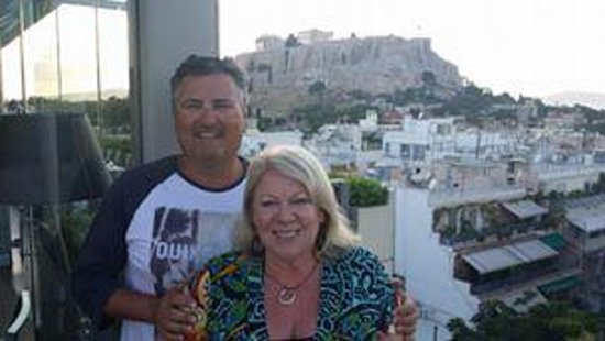 The Athens Gate Hotel: Roof Top Bar