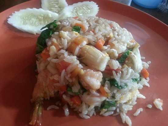 Restauran Jeanette's: Seafood Fried Rice..