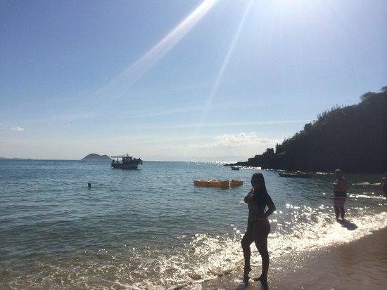 Joao Fernandinho Beach: Vista à direita