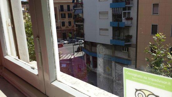 La Stella di Roma B&B: View from the Rose Room