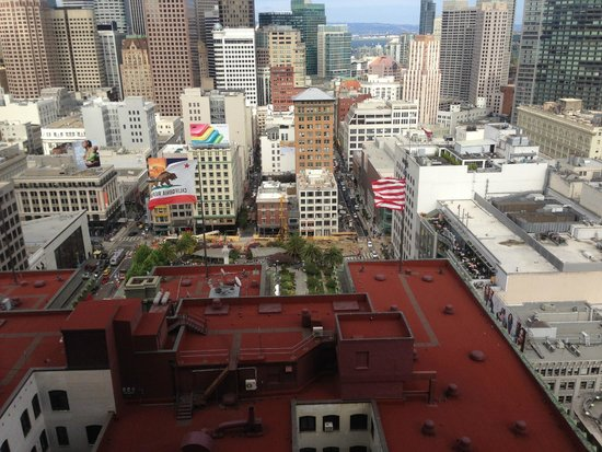 The Westin St. Francis San Francisco on Union Square : Our amazing view