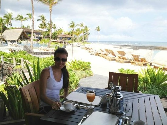Four Seasons Resort Hualalai: breakfest