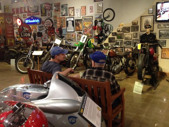 National Motorcycle Museum: Resting spot