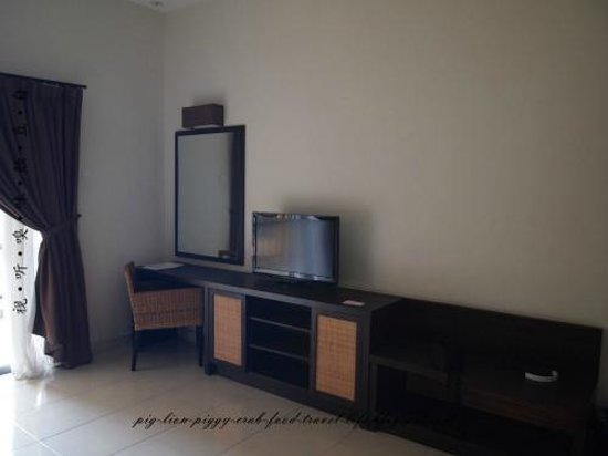 Gold Coast Morib International Resort: room with LCD TV
