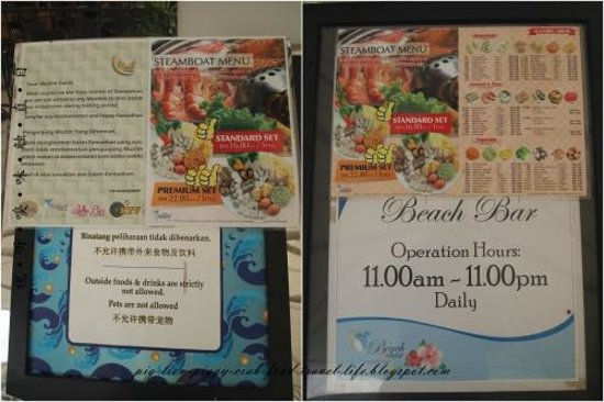 Gold Coast Morib International Resort: steamboat restaurant (previously was korean restaurant)