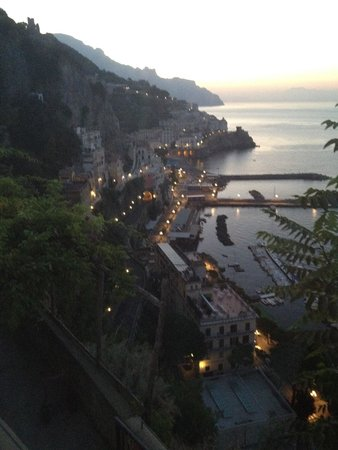 NH Collection Grand Hotel Convento di Amalfi: Room with a view. Early morning from the Amalfi Coast.
