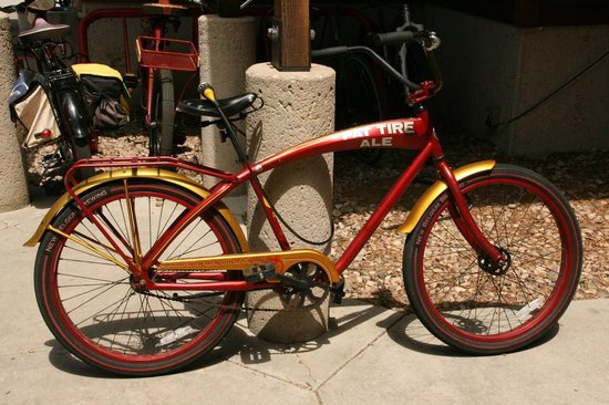 New Belgium Brewing: Employees are issued a bike after a certain time