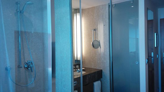 Pullman Dresden Newa: shower time