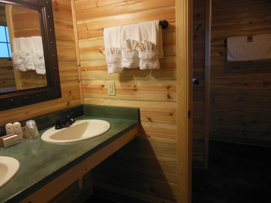 Cedar Pass Lodge : Bathroom