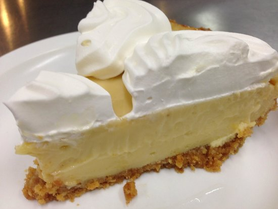 Coffee Shop Cafe: Made from scratch Key Lime Pie!