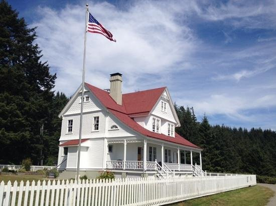 Heceta Head Lighthouse: B &B that was once the Assistant lightkeepers home