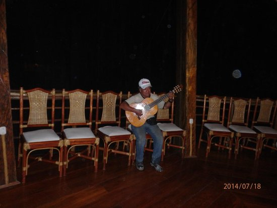 Treehouse Lodge: Soft Music during Dinner